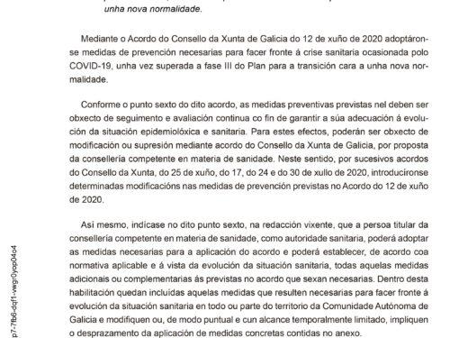 Diario Oficial de Galicia - DOG - VersiónGallego núm 164 Sábado, 15 de agosto de 2020